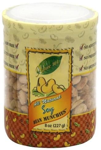Nature 101 Soy Bean Munchies - 8 oz