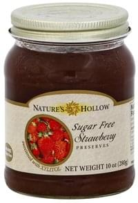 Natures Hollow Preserves Sugar Free, Strawberry