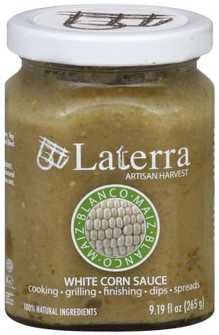 Laterra White Corn Sauce - 9.19 oz