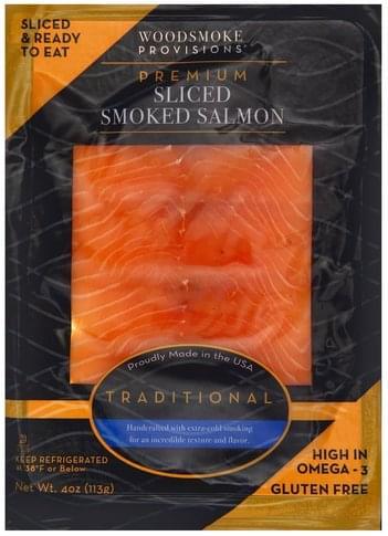 Woodsmoke Provisions Premium, Smoked, Traditional, Sliced