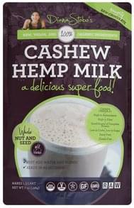 Diana Stobos Hemp Milk Cashew, Naughty Raw Chocolate