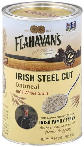 Flahavans Irish Steel Cut Oatmeal - 28 oz