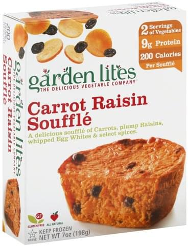 Garden Lites Carrot Raisin Souffle - 7 oz