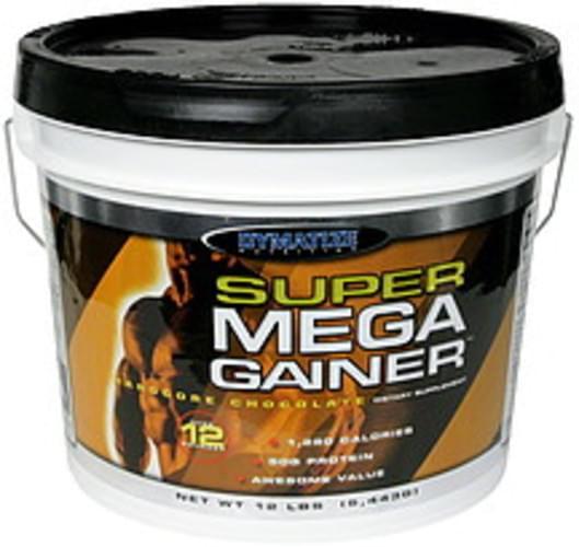 Dymatize Hardcore Chocolate Super Mega Gainer - 12 lb