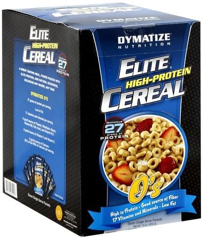 Dymatize O's High-Protein Cereal - 7 ea