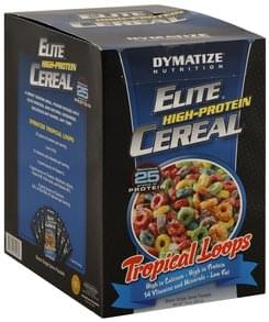 Dymatize Elite High-Protein Cereal Tropical Loops