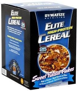 Dymatize High-Protein Cereal Sweet Raisin Flakes