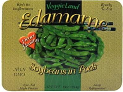 VeggieLand Edamame Soybeans in Pods