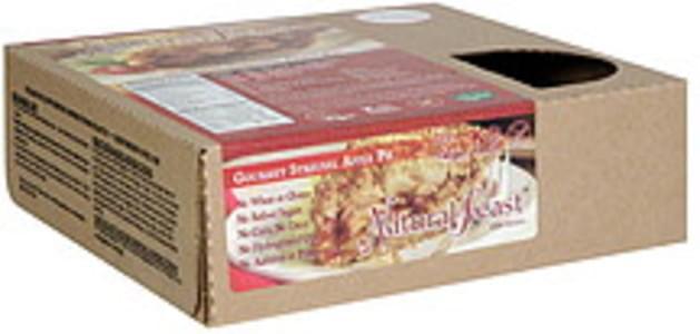 Natural Feast Pie Gourmet Streusel Apple