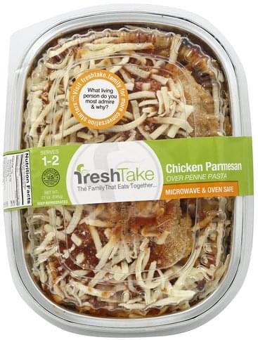 FreshTake Chicken Parmesan Over Penne Pasta - 21 oz