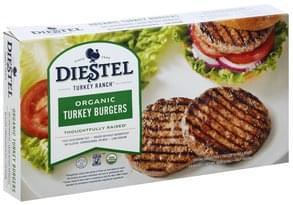 Diestel Turkey Burgers Organic