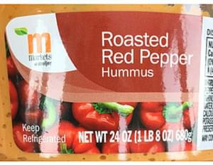M Markets of Meijer Roasted Red Pepper Hummus