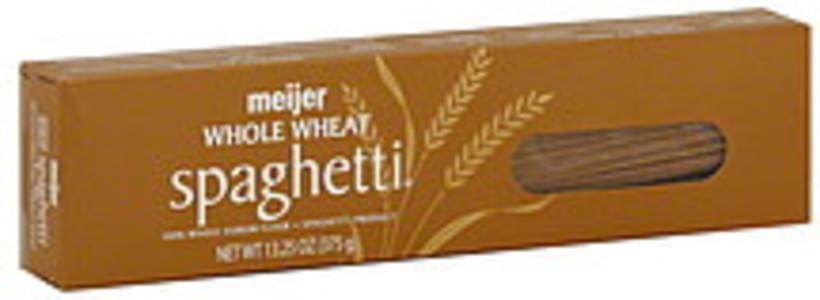 Meijer Spaghetti Whole Wheat