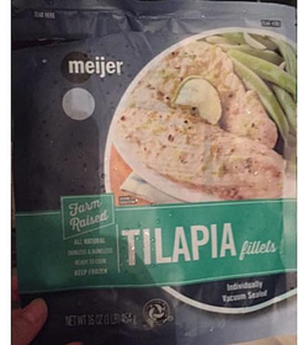 Meijer Tilapia Fillets - 113 g