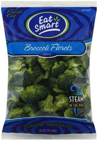 Eat Smart Florets Broccoli - 12 oz