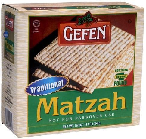 Gefen Matzah - 16 oz
