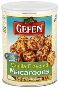 Gefen Macaroons Vanilla Flavored
