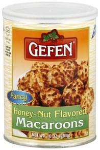 Gefen Macaroons Honey-Nut Flavored