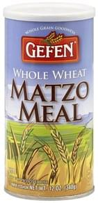 Gefen Matzo Meal Whole Wheat
