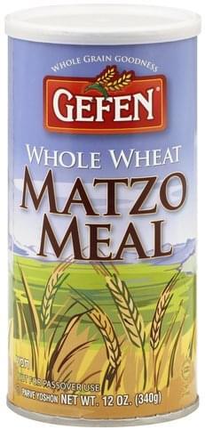 Gefen Whole Wheat Matzo Meal - 12 oz