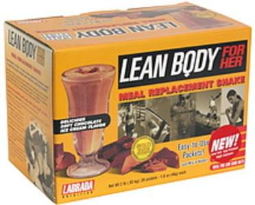 Lean Body Meal Replacement Shake Soft Chocolate Ice Cream