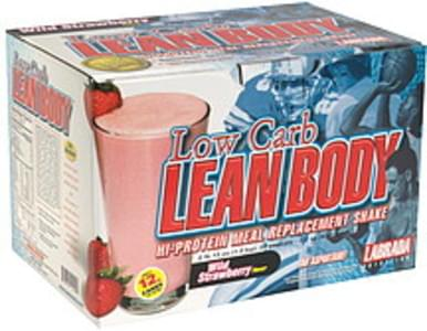 Lean Body Hi-Protein Meal Replacement Shake Wild Strawberry Flavor