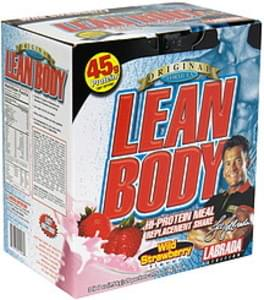 Lean Body Hi-Protein Meal Replacement Shake Wild Strawberry