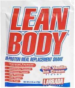 Lean Body Hi-Protein Meal Replacement Shake Soft Vanilla Ice Cream