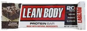 Lean Body Protein Bar Fudge Brownie Flavor