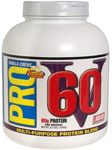Pro V 60 Soft Vanilla Creme Multi-Purpose Protein Blend - 3.5 lb