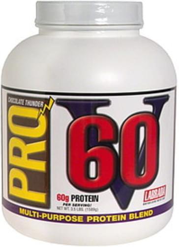 Pro V 60 Chocolate Thunder Multi-Purpose Protein Blend - 3.5 lb