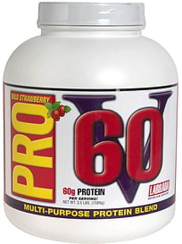Pro V 60 Wild Strawberry Multi-Purpose Protein Blend - 3.5 lb