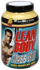 Labrada Nutrition Muscle Builder Milk Shake Lean Body Mass 60, Vanilla Ice Cream