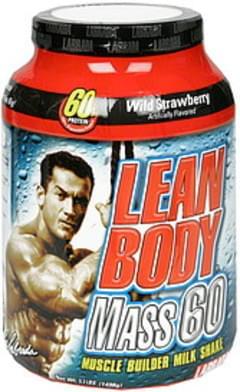 Labrada Nutrition Muscle Builder Milk Shake Wild Strawberry