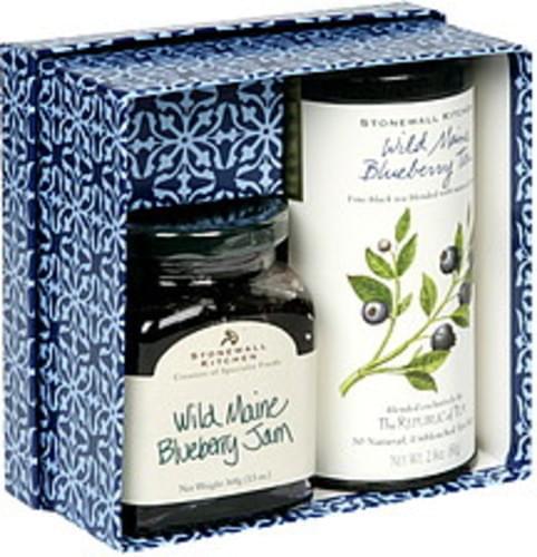 Stonewall Kitchen Jam, Tea Wild Maine Blueberry Collection