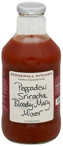 Stonewall Kitchen Peppadew Sriracha Bloody Mary Mixer - 24 oz