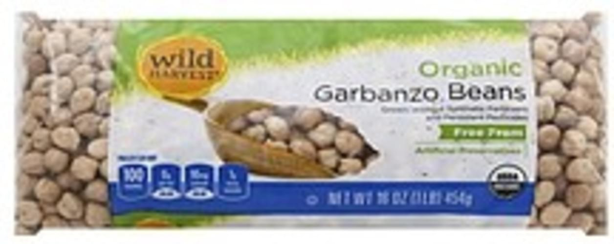 Wild Harvest Organic Garbanzo Beans - 16 oz