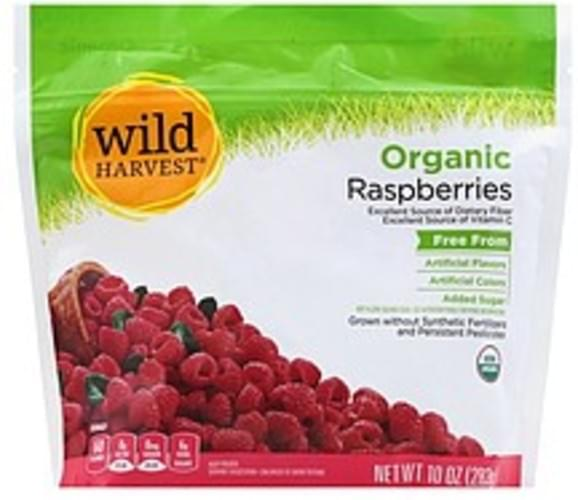 Wild Harvest Organic Raspberries - 10 oz