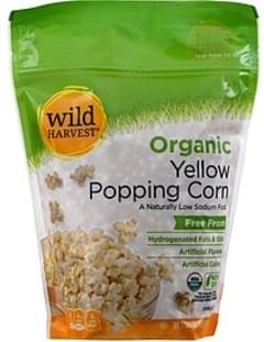 Wild Harvest Popping Corn Organic, Yellow