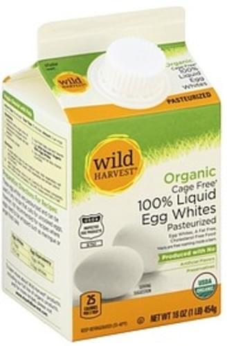 Wild Harvest Organic, 100% Liquid Egg Whites - 16 oz