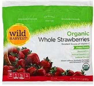 Wild Harvest Strawberries Organic, Whole