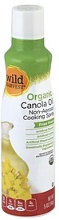 Wild Harvest Cooking Spray Non-Aerosol, Organic, Canola Oil