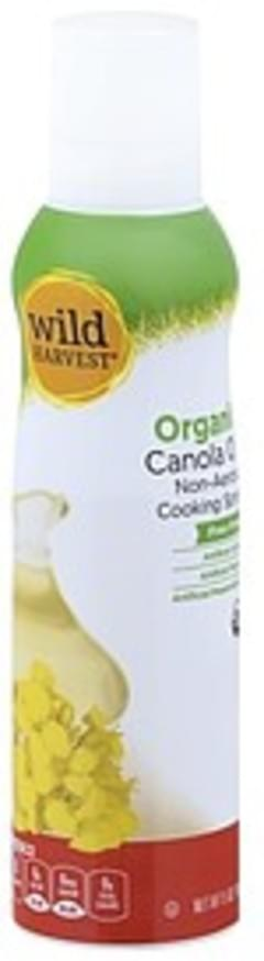Wild Harvest Cooking Spray Organic, Canola Oil, Non-Aerosol