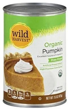 Wild Harvest Pumpkin