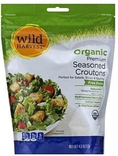 Wild Harvest Seasoned Croutons Organic, Premium