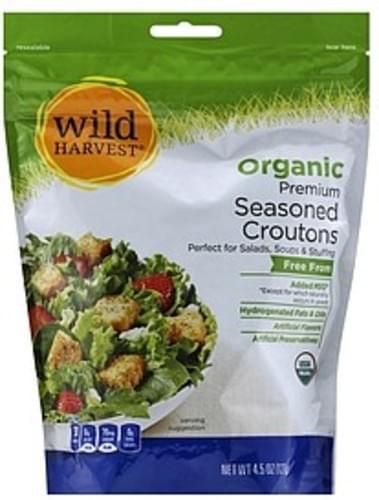 Wild Harvest Organic, Premium Seasoned Croutons - 4.5 oz