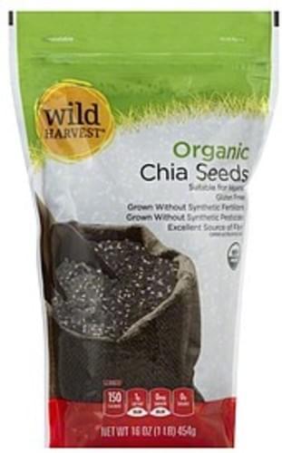 Wild Harvest Chia Seeds - 16 oz