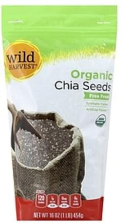 Wild Harvest Chia Seeds Organic