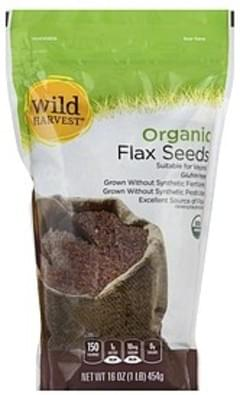Wild Harvest Flax Seeds Organic