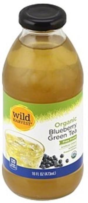 Wild Harvest Organic, Blueberry Green Tea - 16 oz, Nutrition